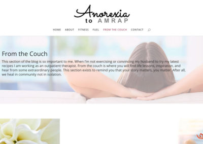 Anorexia to AMRAP | From the Couch