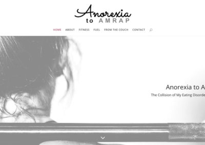 Anorexia to AMRAP | Home