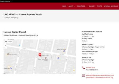 Canaan Baptist | location