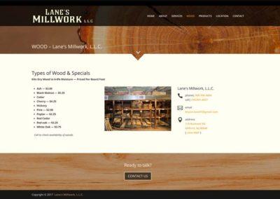 Lanes Millwork | wood