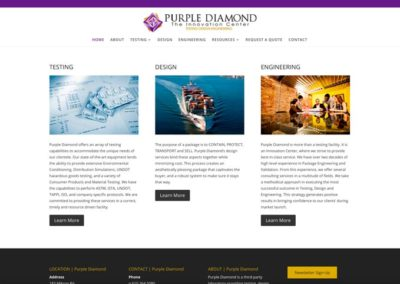 Purple Diamond | home