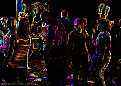black-light event - photography |company |on-site