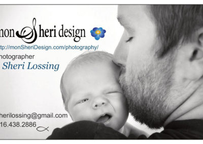 custom GRAPHIC DESIGN projects Grand Rapids MI-Graphic Design for PRINT - Grand Rapids MI-mon Sheri Design | business card 3