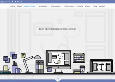 SCREENSHOT| graphic design page